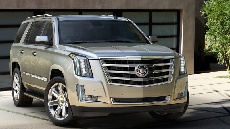 Illustration for article titled Craftsmanship Defines All-New 2015 Cadillac Escalade