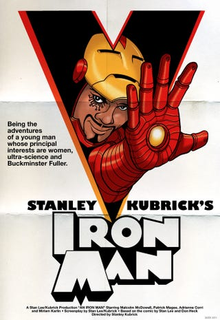 Illustration for article titled What if Stanley Kubrick directed Iron Man?
