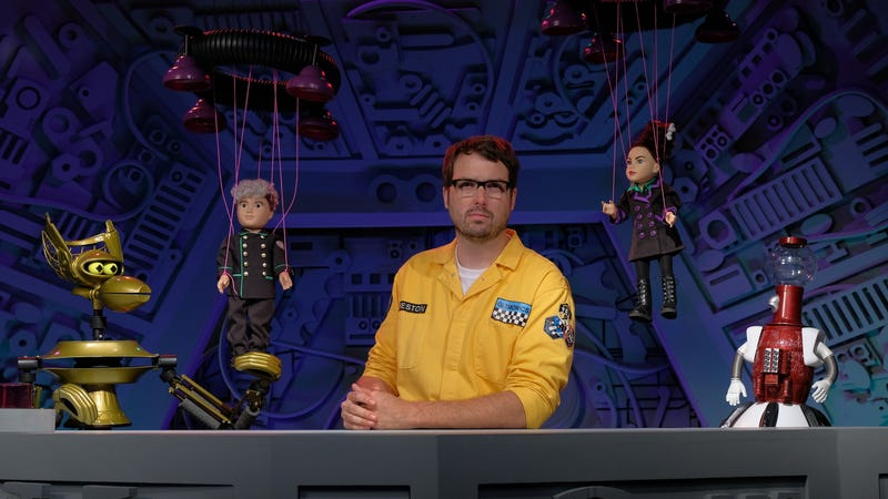 Illustration for article titled Give thanks (get it?) for a new season of Mystery Science Theater 3000: The Return
