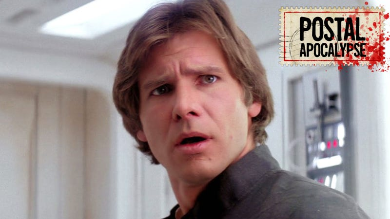 Han Solo makes his concerns known. Image: Lucasfilm.