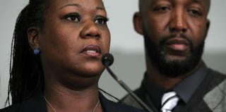 Sybrina Fulton and Tracy Martin, Trayvon Martin's parents (Getty Images)