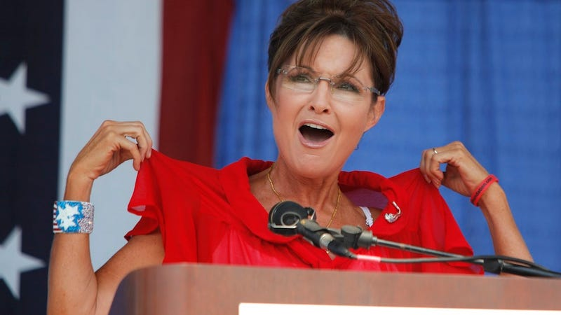 Illustration for article titled Sarah Palin Ran a Faster Marathon Than Libertarian Macho Man Paul Ryan