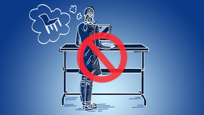 Illustration for article titled Why I Killed My Standing Desk, and What I Do Instead