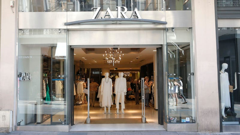 Goldie Hawn is allegedly somewhere shopping in this 2013 photo of a Zara in Cannes. Image via AP.