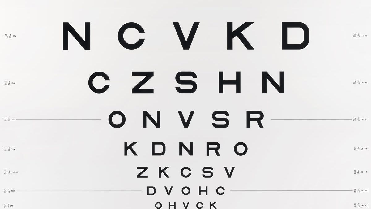 Examining the fascinating typographic history of eye charts nvjuhfo Image collections