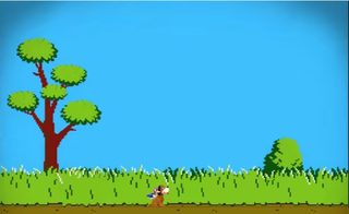 Smash 4's Duck Hunt