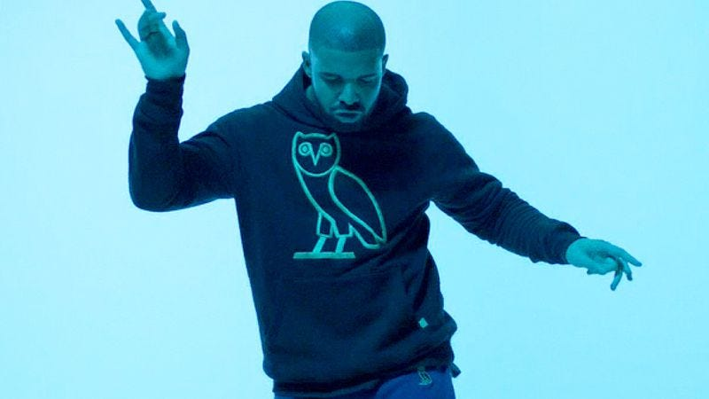 Illustration for article titled Drake dances to some of television's greatest hits, thanks to the internet