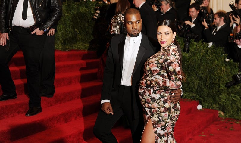 """Illustration for article titled """"Északnyugat"""" lett Kanye West most született lányának a neve"""