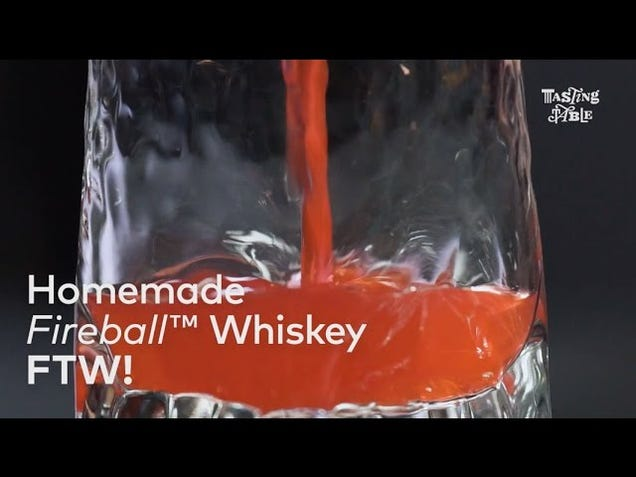 Make Your Own Cinnamon Whiskey With Just Two Ingredients