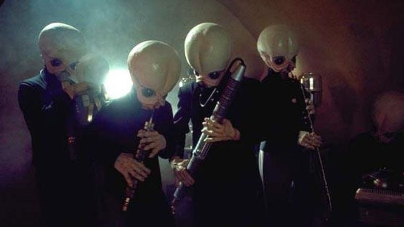 Illustration for article titled The Star Wars cantina song is Australia's top sex jam