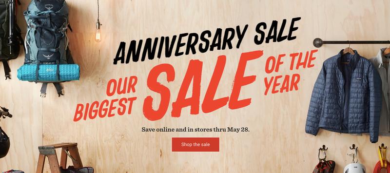 Anniversary Sale | REI