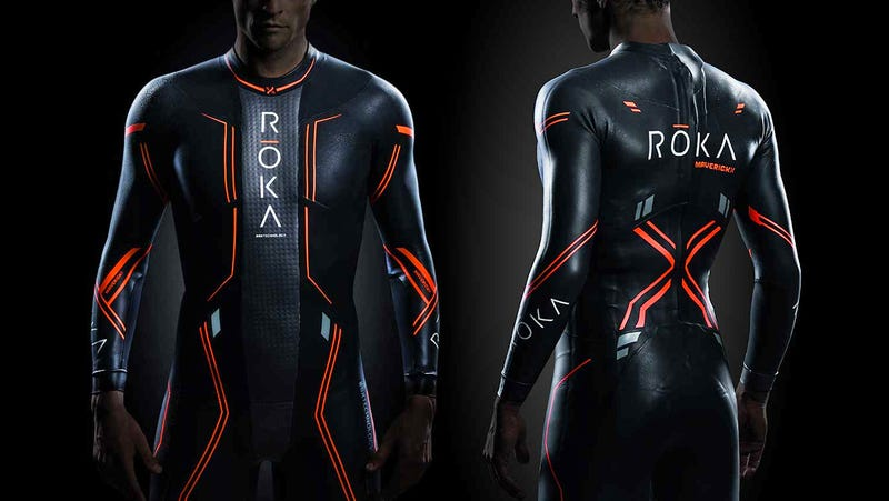 Illustration for article titled This $900 Wetsuit Promises to Make You the Fastest Swimmer