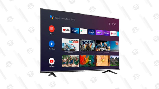 This 55-inch TCL 4K Android TV Is Down To Only $320 Right Now