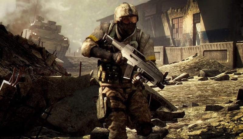 Illustration for article titled Battlefield Bad Company 2's Single-Player Will Be A More Serious Matter