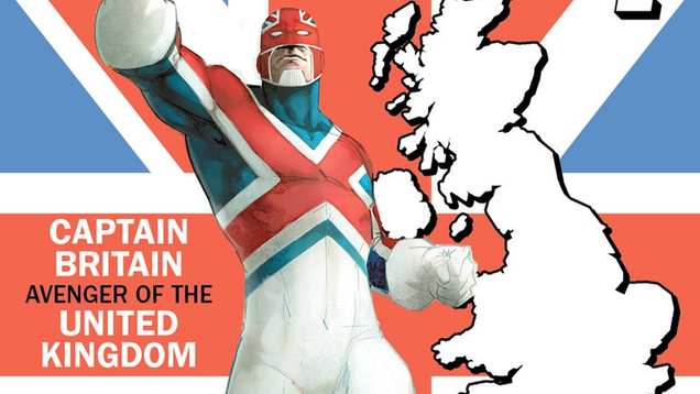 captain britain is seriously the most popular usavenger