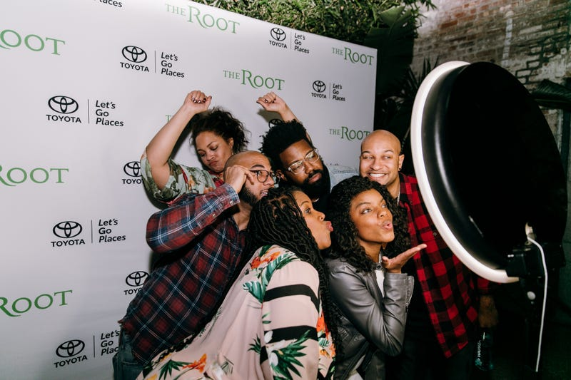 Urban by Nature panelists with The Root's editor-in-chief, Danielle Belton