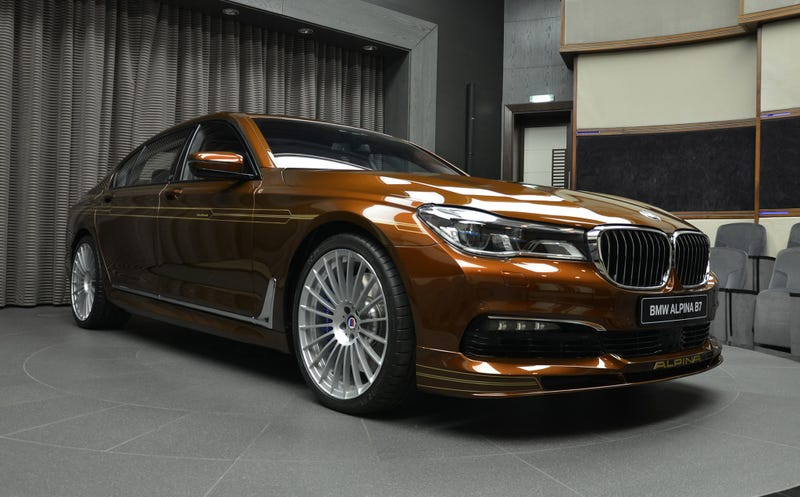 Custom New BMW Alpina B Is Offensively Brown And Extremely Pretty - Alpina motors