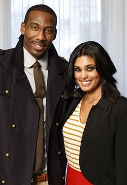 Amar'e Stoudamire and Rachel Roy team up. (Google)