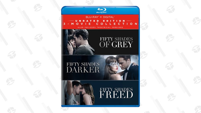 Fifty Shades: 3-Movie Collection on Blu-ray | $20 | Amazon