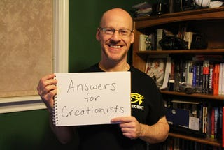 Illustration for article titled They Asked, He Answered: 22 Answers for Creationist.