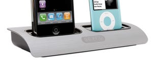 Illustration for article titled Griffin PowerDock is Two iPods At the Same Time, Man