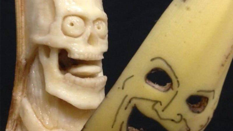 Illustration for article titled Japanese Banana Art Is So Damn Appealing