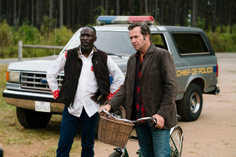 Illustration for article titled It's a late-night break-in with this exclusive clip from Hap & Leonard