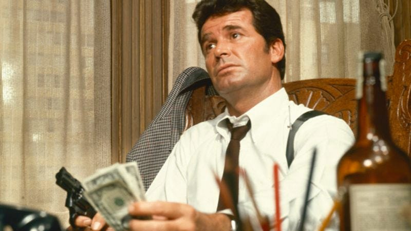 Illustration for article titled In The Rockford Files, James Garner played a PI who was in on the joke