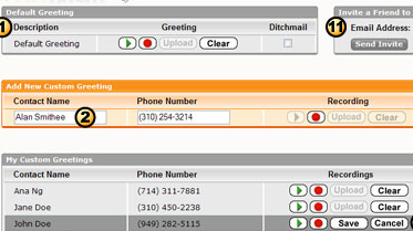 Create unique voicemail greetings for each caller web site youmail is a free web appvoicemail service that lets you record personalized greetings for different callers in your contact list m4hsunfo