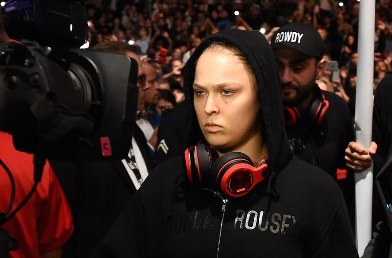 Illustration for article titled Ronda Rousey Isn't The Female Anyone; She's The First Ronda Rousey
