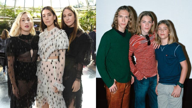HAIM dress up as Hanson for Halloween, and it's perfect