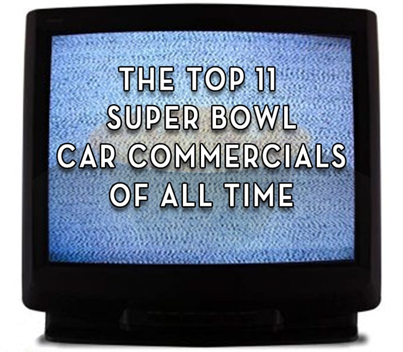 Illustration for article titled The Top 11 Super Bowl Car Commercials Of All Time