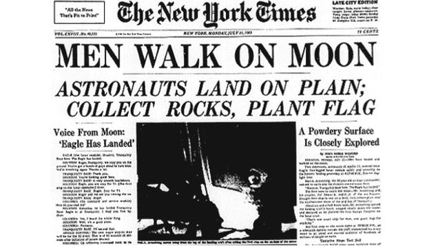 U.S. Newspaper Article Neil Armstrong 1969 (page 3) - Pics ...