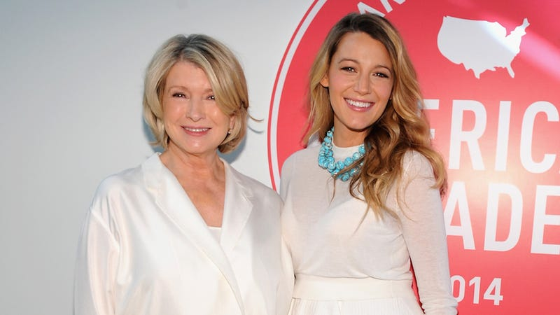 Illustration for article titled Blake Lively Knows Her Place When It Comes To Martha Stewart