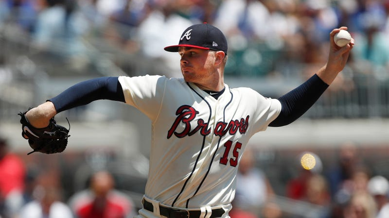Illustration for article titled Braves Pitcher Sean Newcomb Loses No-Hitter With Two Outs And Two Strikes In Ninth Inning