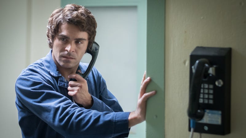 Illustration for article titled Zac Efron's Ted Bundy movie is an interesting, ambitious misfire