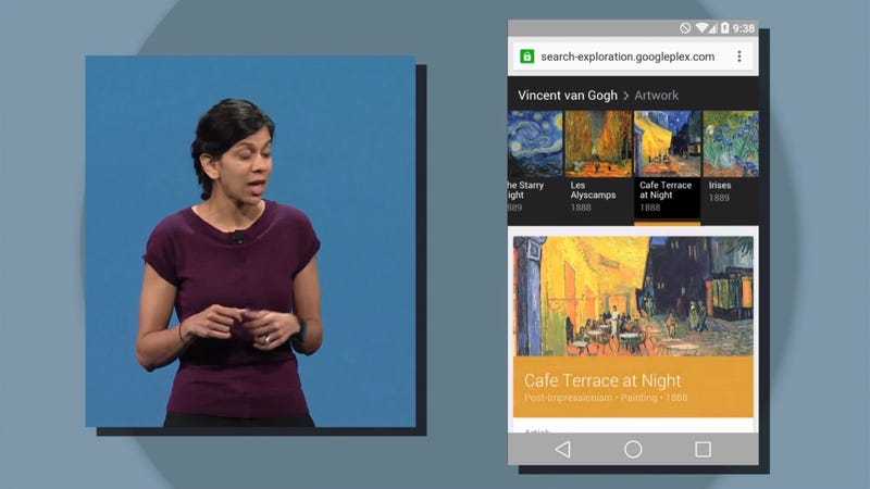 Illustration for article titled Google's New Look for Android Is Leaking Out Onto the Web Too