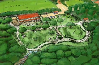 Illustration for article titled Blimp: Hayao Miyazaki is making a children's nature park!