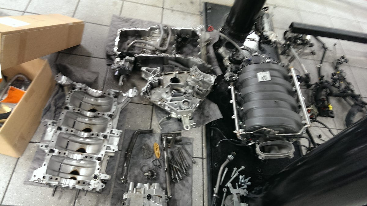 AMA: AMG M156 6 2L V8 Engine, With $95k Failure Photos