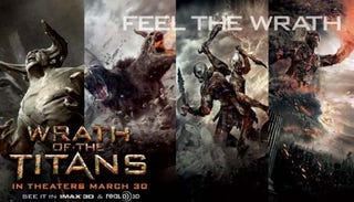 Illustration for article titled Wrath of the Titans promo banners