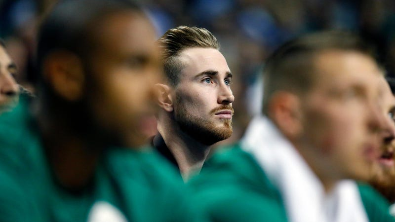 Illustration for article titled Brad Stevens Says Gordon Hayward Will For Sure Not Play For The Celtics This Season