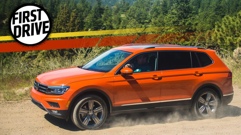 The 2018 Volkswagen Tiguan Is Sterile But Has A Third Row Because You Aren T