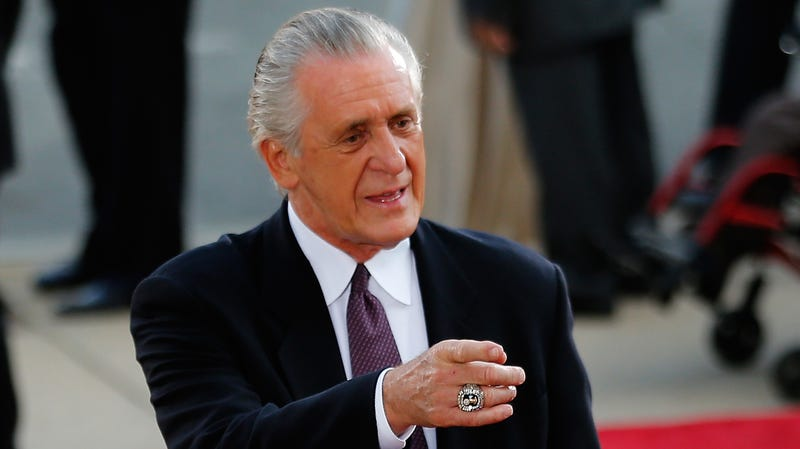Illustration for article titled Pat Riley Denies Calling Tom Thibodeau A Motherfucker And Takes Shot At Danny Ainge In Statement