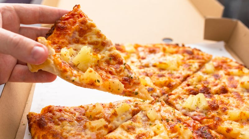 Illustration for article titled US cybersecurity agency uses pineapple pizza to warn Americans about election meddling