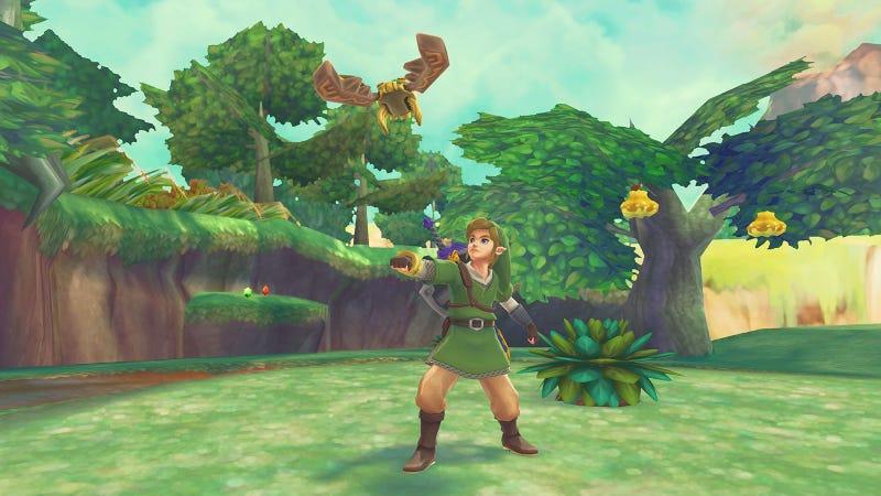 Illustration for article titled Zelda Details: Link Is From Cloud City