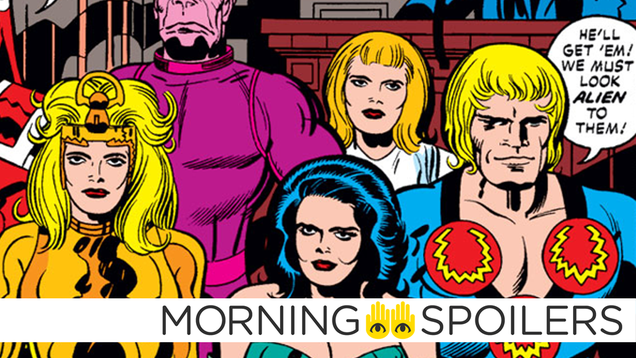 Updates From The Eternals, Terminator 6,and More