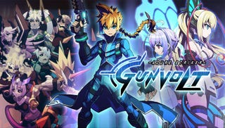 Illustration for article titled Azure Striker Gunvolt Coming to Steam on August 28, 2015
