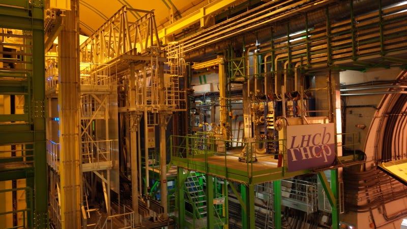 It's sort of hard to get a good picture of LHCb to be honest (Image; Ryan F. Mandelbaum)