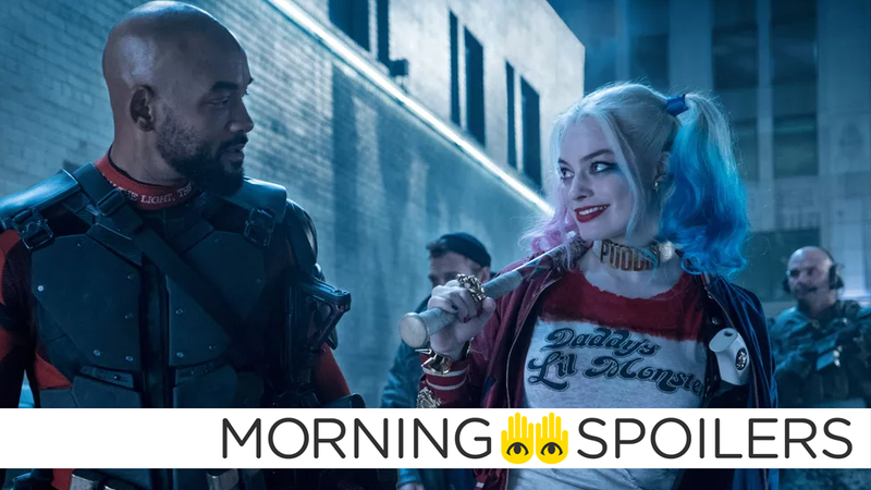 Not gonna lie, friends: I'm running out of stills from Suicide Squad to crop for all this The Suicide Squad news.