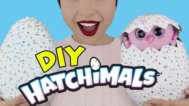"This Video Shows You How to Make Your Own DIY ""Hatchimal"" Egg"